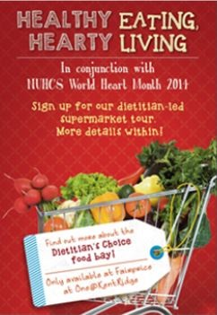 Dietitian-led Supermarket Tour